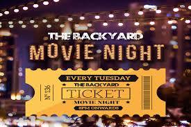 Backyard Movie Night The Ultimate Movie Night At The Backyard Dubai Confidential
