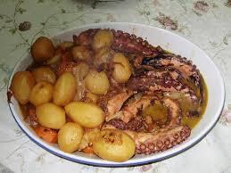 cuisiner le poulpe recettes ragoût de poulpe