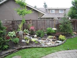Landscape Ideas For Backyards With Pictures Diy Landscaping Ideas For Small Backyards Saomc Co