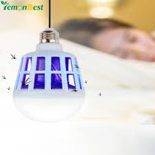 no bug light bulb no radiation mosquito killer led bulb 220v 15w led bug zapper l