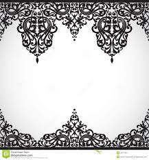 victorian design simple vintage frame in victorian style for