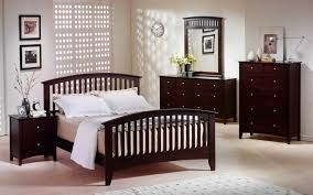 Master Bedroom Wall Finishes Dark Finish Hardwood Bun Feet On Large Beautiful Nightstand Under