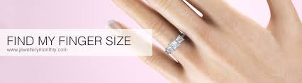 wedding ring sizes find your ring size with our international ring size chart