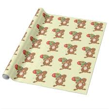 squirrel wrapping paper pig wrapping paper zazzle co uk