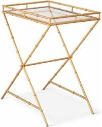 find the best fall savings on accent table threshold bamboo motif