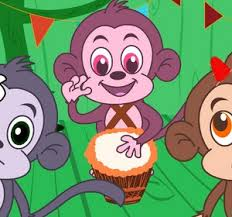 No More Monkeys Jumping On The Bed Song Five Little Monkeys Jumping On The Bed Cartoon Animation Rhymes
