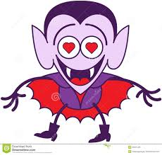 halloween dracula feeling madly in love stock vector image 45347435