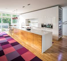 Modern Pendant Lighting Plum Pendant Lighting Gives This Contemporary Kitchen A New Twist