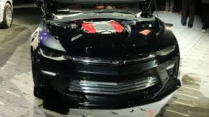 2016 camaro ss concept chevy camaro ss gets slammed at sema