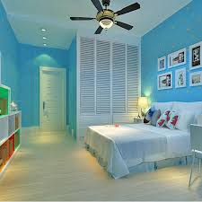wall ls in bedroom modern wall paper for children room blue wallpaper roll kids non