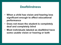 lauren j lieberman chapter 13 deafness and deafblindness ppt