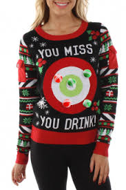 funny christmas sweaters tipsy elves