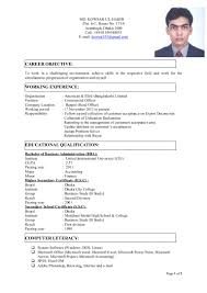 Philippine Resume Format Final Cv With Photo