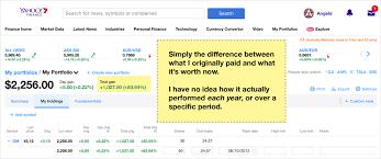 Yahoo Finance Yahoo Finance Vs Sharesight Comparing Portfolio Trackers