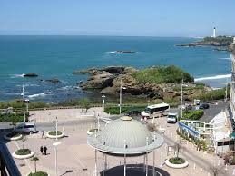 Biarritz France Map by