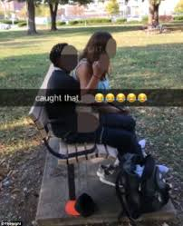 Couple has sex on an illinois park bench daily mail online