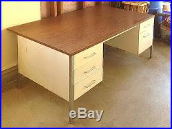 Steelcase Desk Vintage Steelcase Metal Desk