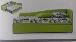 divanetto letto singolo divano letto singolo con secondo letto estraibile isa05