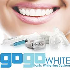 how to use teeth whitening kit with light amazon com premium teeth whitening kit by gogo white teeth