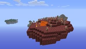 Island Map Generator Minecraft Sky Islands 10000 Downloads Maps Mapping And