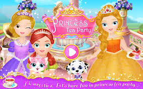 princess libby tea party android apps on google play