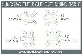 8 person round table size round table size for 6 great 8 person dining room dimensions medium