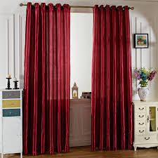 Burgundy Curtains For Living Room Online Get Cheap Curtains Grommet Top Aliexpress Com Alibaba Group