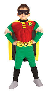 amazon com deluxe muscle chest robin costume toddler clothing