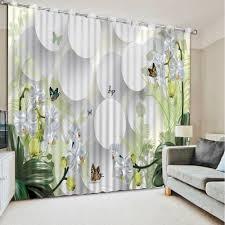 Curtains Home Decor by Online Get Cheap Blackout Curtains Flower Aliexpress Com