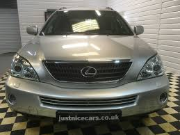 lexus car sale uk used lexus rx 400h 3 3 sr 5dr cvt auto 2 local owners for sale in