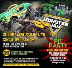 monster truck show ticket prices monster jam 2017 schottenstein center