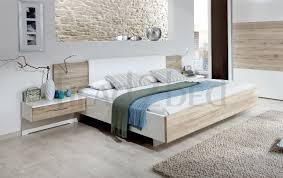 orion by stylform rustic oak white havanna floating bed