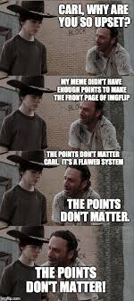 Rick Carl Memes - rick and carl long meme imgflip