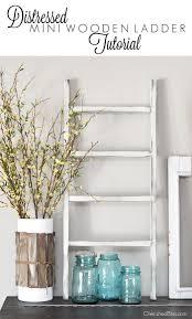 12 fantastic farmhouse decor ideas 13 wooden ladder decor diy