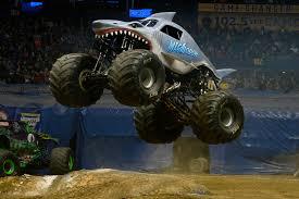 monster truck show houston 2015 megalodon monster jam
