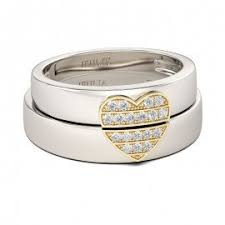 Jeulia Wedding Rings by Jeulia Gold Tone Round Cut Created White Sapphire Men U0027s Wedding