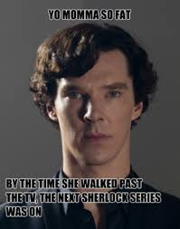 Funny Sherlock Memes - sparkles pizza and randomness