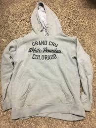 jiberish grand cru colorado sweatshirt skiing apparel sidelineswap