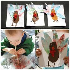 Easy Turkey Crafts For Kids - turkey crafts for toddlers and preschoolers happy hooligans
