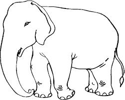Dessins de Elephant à colorier