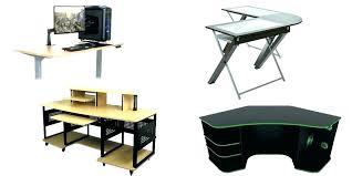 L Gaming Desk Wooden Gaming Desk L Shaped Gaming Computer Desk Best Gaming Desk