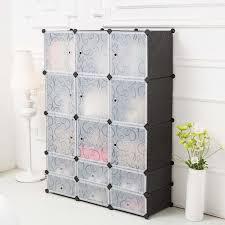 amazon com c u0026ahome diy plastic wardrobe closet bedroom armoires