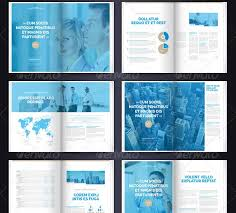 multi page brochure template multi page brochure template free