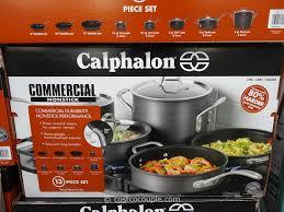 calphalon 13pc commercial hard anodized cookware set