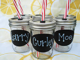8oz mason jars kids personalized birthday party drinks kids