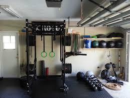 home gym design for garage decorin