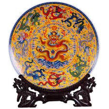 aliexpress buy fengshui ceramic ornamental plate ancient