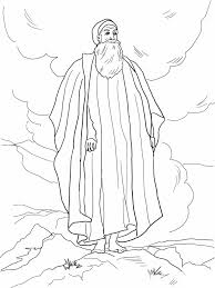 moses coloring pages coloring page blog