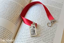 ribbon bookmarks bookmarks with diy photo pendants a great gift idea