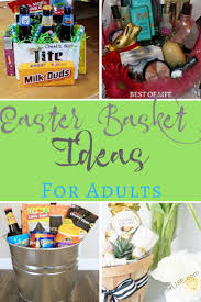 ideas for easter baskets for adults easter basket ideas for adults no candy couples and more best